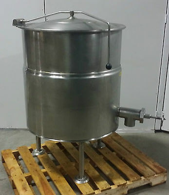 CLEVERLAND KEL60 60 Gallons Stationary Full Steam Jacketed Electric Kettle