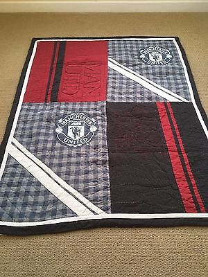 Pottery Barn Teen Manchester United Twin Quilt Euc 59 99 Picclick