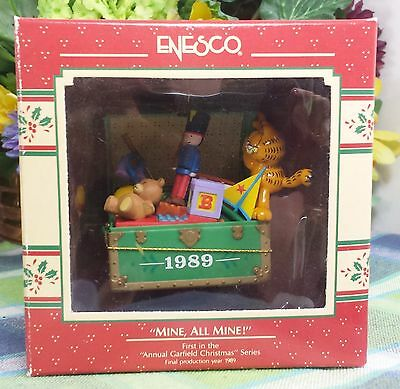 Enesco Garfield Mine all Mine ornament 1989