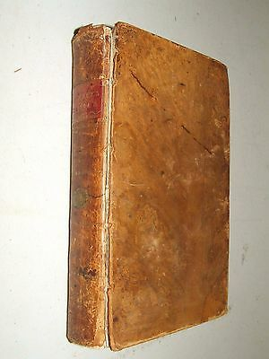 1785 GUTHRIE'S GRAMMAR Vol.II Geographical Grammar Atlas with Maps Leather Book