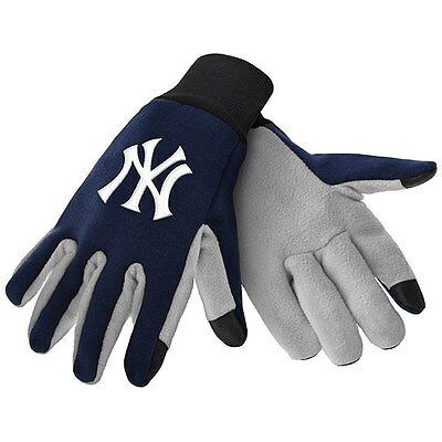 New! New York Yankees Texting Cell Phone Gloves Glove Smart Touch Warm Bronx