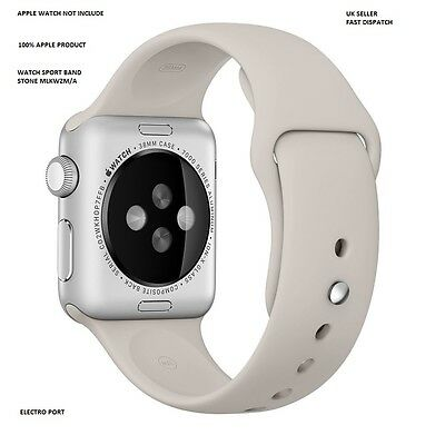 GENUINE Apple WATCH STRAP for Apple Watch 38mm MLKW2ZM/A SPORT BAND - Stone