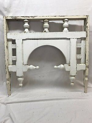 Antique Arch Gingerbread Finials Corbel Cornice Shabby Victorian Chic 41-17R