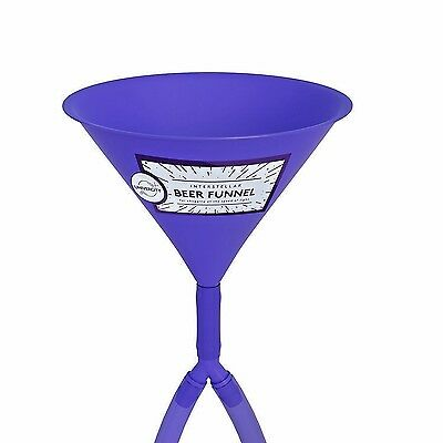 Beer Bong Double Header - Best Double Beer Funnel with Valves for College - 2 -