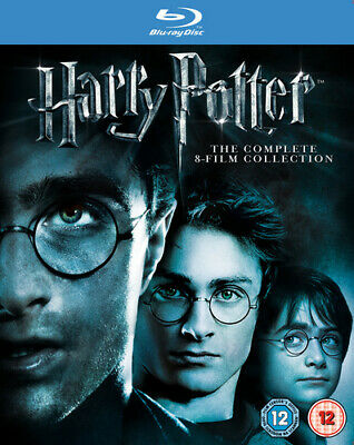 Harry Potter: Complete 8-film Collection Blu-ray (2011) Daniel Radcliffe,