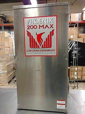 Phoenix 200 MAX 128 Pint Commercial Dehumidifier Excellent Condition
