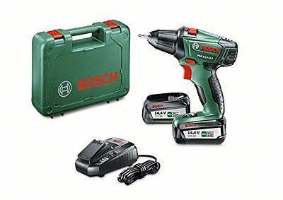 "Bosch Perceuse-visseuse ""Expert"" sans fil PSR 14,4 Li-2 coffret 2 batteries NEW"