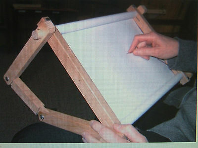 FA Edmunds Cross Stitch Scroll Frame Flexible Lap Stand