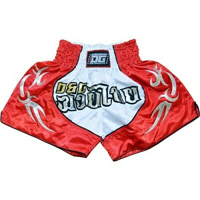 Red Duo 'blade' Kickboxing Thai Fighter Shorts