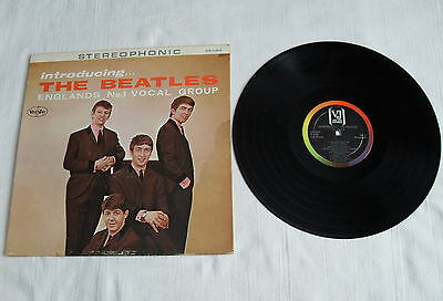 """Introducing the Beatles Lp Vee Jay """"Authentic Stereo"""" Meets every test!"""