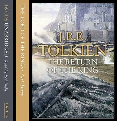 Book : Lord of the Rings by Tolkien  J. R. R. CD-Audio New