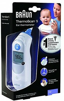 Braun Ear Thermoscan Baby Infant Child Digital Thermometer Body Temperature