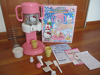 Hello Kitty soft ice cream maker very RARE only get in Japan Sanrio Takara 2001