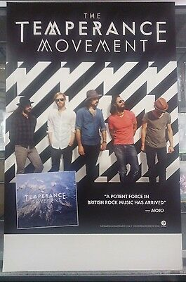 Music Poster Promo The Temperance Movement ~ Debut Album