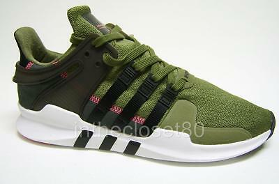 best cheap 190a5 26266 Adidas EQT Support ADV 91-16 Olive Cargo Green Black Turbo Mens Trainers  S76961