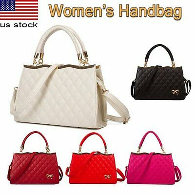 Women Handbag Shoulder Bag Tote Purse Leather Lady Messenger Hobo Satchel Travel