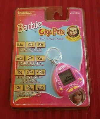 Giga Pets Barbie Precious Kitty Electronic Pet Cat 1997 - New - See Details
