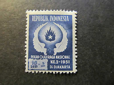 1951 - Indonesia - Wings And Flame - Scott B64 Sp44 10S + 5S (3)