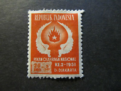 1951 - Indonesia - Wings And Flame - Scott B65 Sp44 20S + 5S (1)