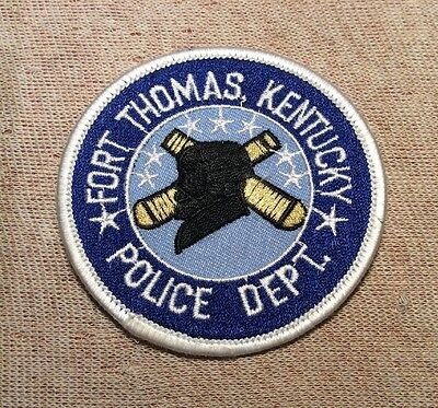 FT Fort Thomas Kentucky Police Patch (3In)