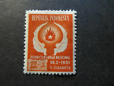1951 - Indonesia - Wings And Flame - Scott B65 Sp44 20S + 5S (2)