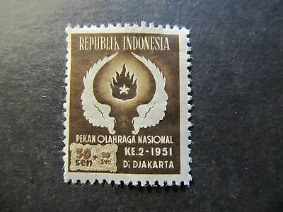 1951 - Indonesia - Wings And Flame - Scott B66 Sp44 30S + 10S (3)