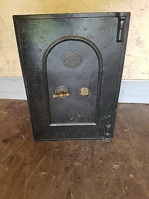 Safe - Antique/Vintage with Original Keys - 2 Lockable Drawers Inside