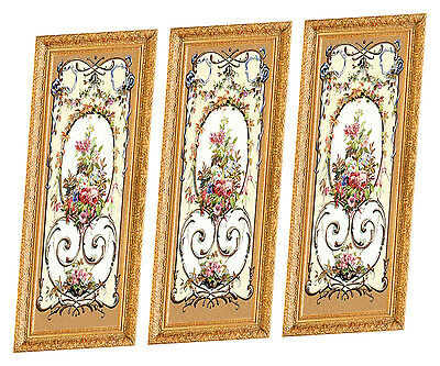 Dolls House Victorian Wall Panels choose from 1/12th or 1/24th scale #203
