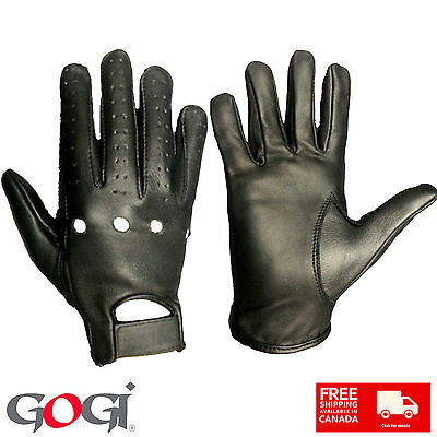 New Top Quality Real Leather Summer Gloves Driving Cycling Fashion Casual Unisex