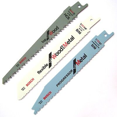 Bosch KEO / Florabest Blades Set for Cordless Garden Saw WOOD and METAL Cutting