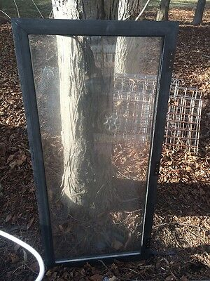 Thermo-Proof Double Hung Window  - Aluminum-Framed 4-1/2' X 2' (lot of 7)