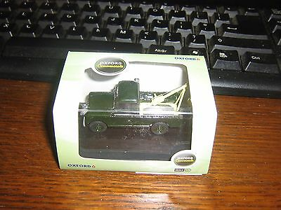 OXFORD DIE-CAST - TOW TRUCK - LAND ROVER SERIES 2 - 00 gauge / 1:76 model