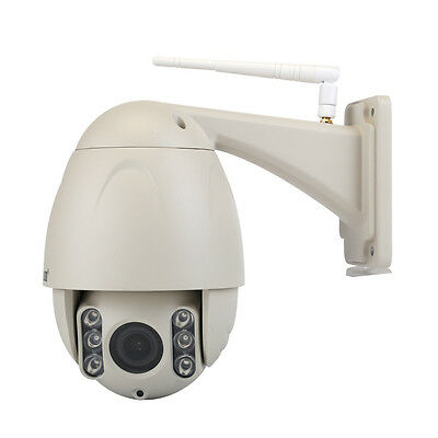 Wanscam HD 720P Array LED Night Vision 80M 5X Optical Zoom Wireless SD IP Camera