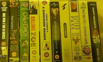 choose your bundle from MIXED JOB LOT OF VHS VIDEO TAPES FILMS