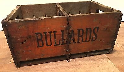 Bullards Vintage Wooden Beer Crate