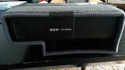 BMW 6 CD Changer, includes Trunk Mounting Bracket and Hideaway Box. From 1997 Z3