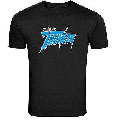 WCW Thunder Event Black T Shirt Wrestling WWF ALL SIZES Tee Ric Flair