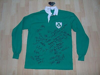 Ireland Signed By Many Legends Shirt /jersey/maillot- Look!!