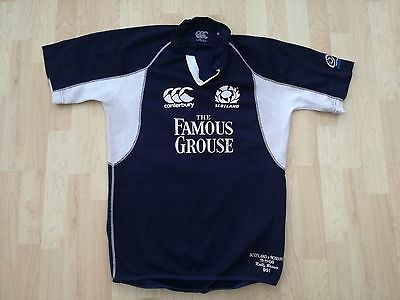 Scotland Match Worn Rugby Shirt /jersey/maillot- (Saracens) Rare-With C.o.a