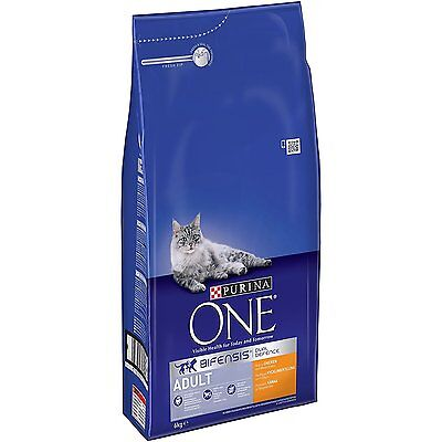 Purina ONE Adult Dry Cat Food Chicken and Whole Grains 6kg *New Fast Delivery