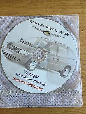 CD Service Manuals Chrysler Voyager 1996-2000 and 2001-2003