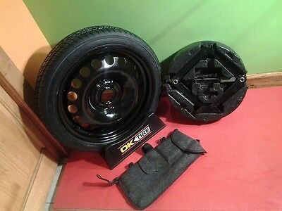 2011 2016 Chevy Cruze Compact Mini Donut Spare Tire With Jack Kit