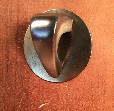 One Vintage Art Deco Brass Pull