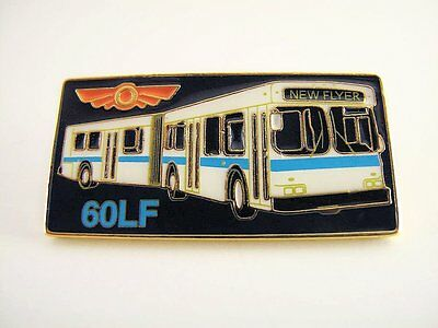 New Flyer Industries - Articulated 60LF Bus - Lapel Pin - PinBack - Brooch