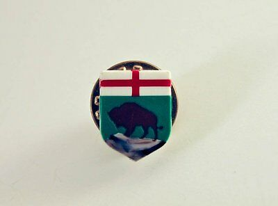 Small Shield Of Arms - Crest Of Manitoba - Lapel Pin - PinBack - Brooch