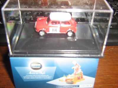 OXFORD DIE-CAST - MINI COOPER S MK 2 - 1968 MONTE CARLO -  00 gauge /1:76 model