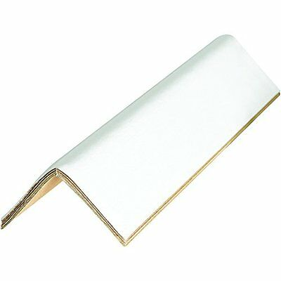 Edge Protectors Cased 0.160in 2in x 2in x 60in White Pack of 60 Professional Bus