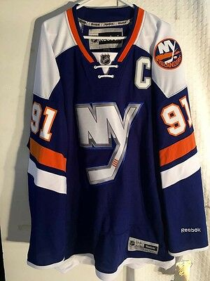 NHL New York Islanders John Tavares Premier Ice Hockey Shirt Jersey