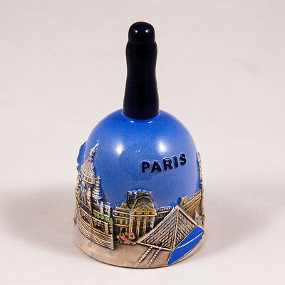 Decorative Bell: France. Main Attractions of Paris
