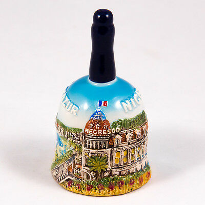 Decorative Bell: France. Main Attractions of Nice (Cote D Azur)